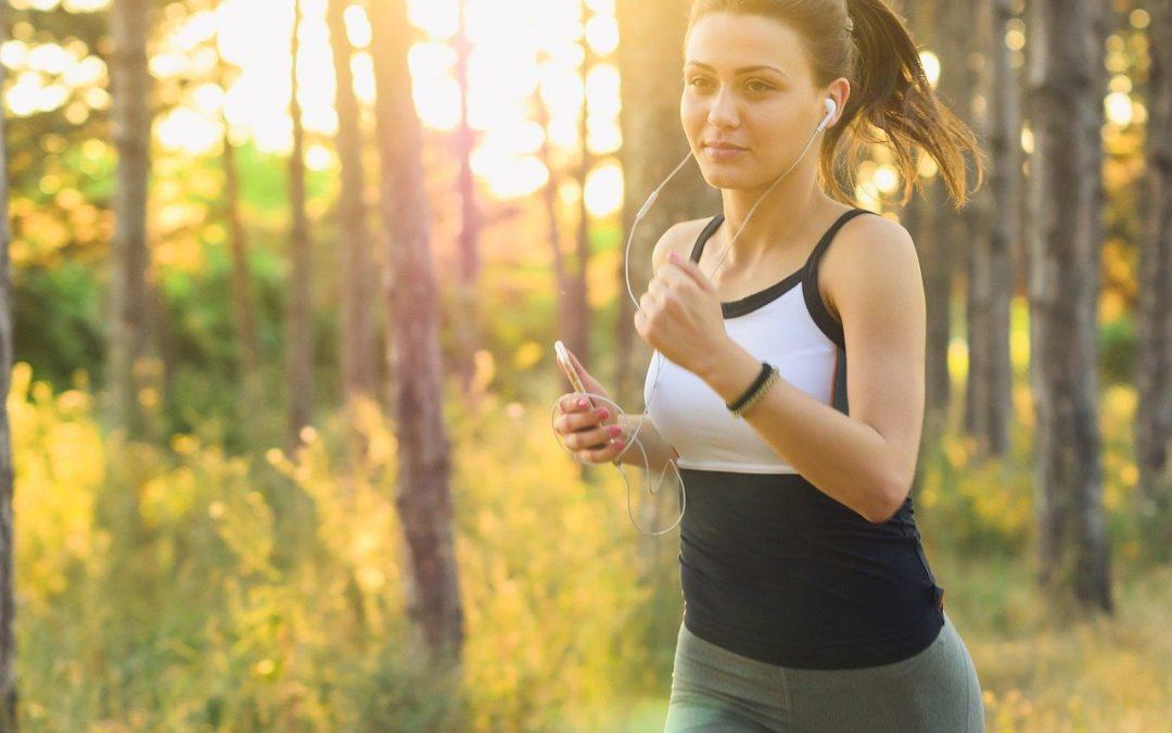 Běhání jako cesta kvysněné postavě